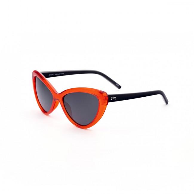 Gafas de sol polarizadas flotantes. Las gafas que flotan. Rodas - Negro y Rojo