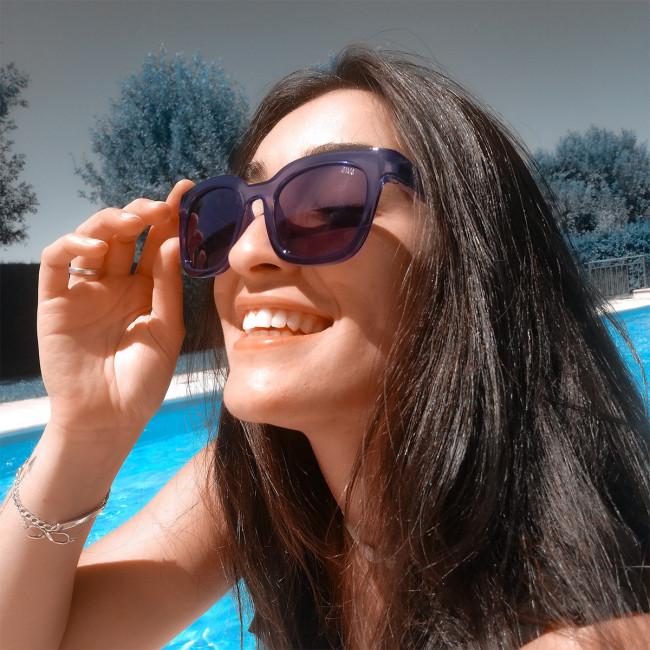 Gafas de sol polarizadas flotantes. Las gafas que flotan. Vega - Rosa Pastel